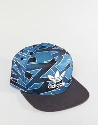 Кепка с принтом adidas Originals AZ3255 - Синий 1