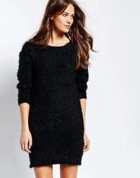 Платье-джемпер Ichi - Черный