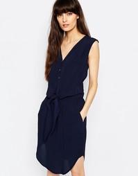 Платье без рукавов Selected Miva - Navy blazer