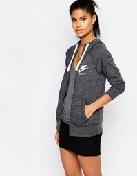Худи на молнии Nike - Серый
