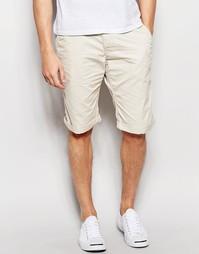 Прямые шорты чиносы Esprit - Light beige