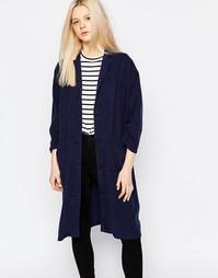 Легкое пальто Monki - Темно-синий
