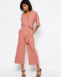 Комбинезон с рукавами-кимоно ASOS - Пудрово-розовый