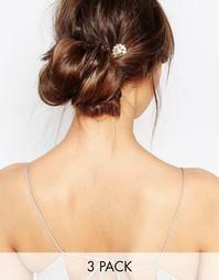 Заколки для волос Orelia - Бледно-золотистый