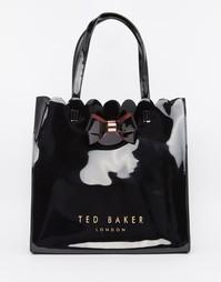 Сумка с фигурным краем Ted Baker - Черный
