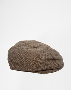 Плоская кепка Brixton Brood - Коричневый