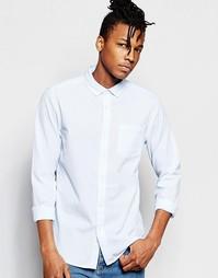 Рубашка с длинными рукавами ASOS - Небесно-голубой