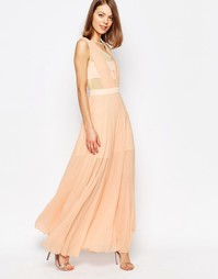 Платье макси Jovonna Neon Town - Розовый