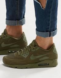 Кроссовки Nike Air Max 90 Ultra Breathe 725222-201 - Зеленый