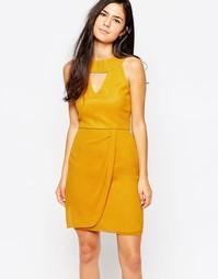 Платье VLabel Kensal - Желтый