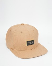 Бейсболка King Apparel Gold Seal - Рыжий