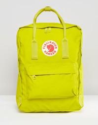 Рюкзак цвета зеленого лайма Fjallraven Kanken