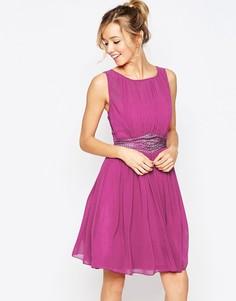 Приталенное платье Little Mistress - Розовый