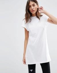 Удлиненная футболка ASOS The Ultimate - Белый