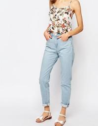 Светлые джинсы в винтажном стиле Lost Ink - Светло-голубой
