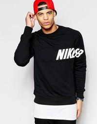 Черная футболка Nike SB Everett 728067-010 - Черный