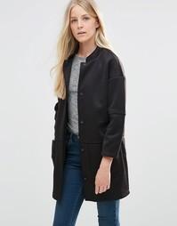 Куртка с воротником-стойкой Vila Scub - Vila scub funnel nec
