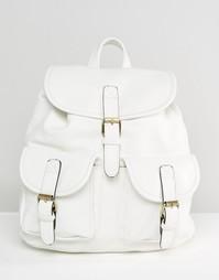 Рюкзак с кармашками Liquorish - Белый
