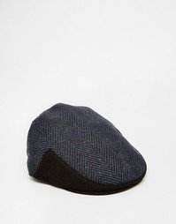 Кепка с плоским верхом Goorin Hatchet Ivy - Синий