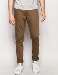 Зауженные джинсы цвета хаки ASOS - Ermine