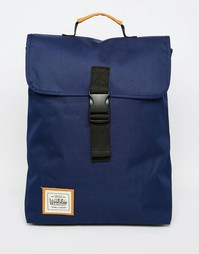 Рюкзак с застежкой-ремешком Workshop - Синий