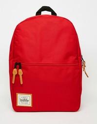 Рюкзак с карманом на молнии Workshop - Красный