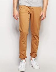 Светло-коричневые джинсы скинни ASOS - Кэмел