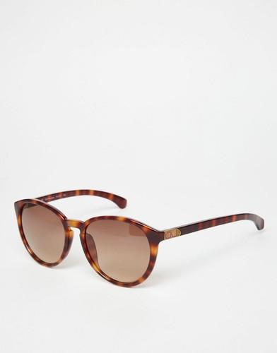 Круглые солнцезащитные очки Calvin Klein Jeans - Бирюзовый