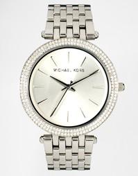 Серебристые часы MK3190 Michael Kors Darci - Серебряный