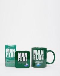 Подарочный набор с мятными пастилками и кружкой Man Flu Mug - Мульти Gifts