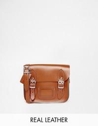 Маленькая сумка‑сэтчел The Leather Satchel Company - Лондонский беж