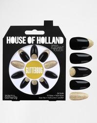 Накладные ногти House Of Holland By Elegant Touch - Glitterbug