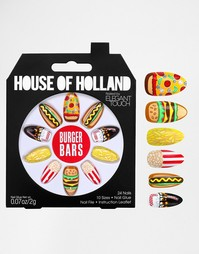 Наклейки для ногтей House Of Holland By Elegant Touch - Burger Bars