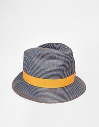 Соломенная шляпа Catarzi - Синий