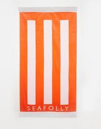 Пляжное полотенце Seafolly Party Trick - Нектарин