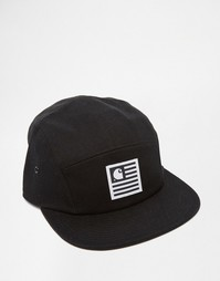 5-панельная кепка Carhartt WIP State - Черный