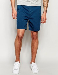 Темно-синие шорты Hollister - Majolica blue