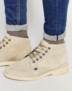 Легендарные замшевые ботинки Kickers - Кремовый