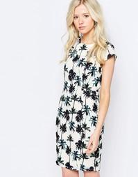 Платье с пальмовым принтом Sugarhill Boutique - Мульти