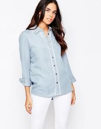 Джинсовая рубашка с отделкой Goldie Lay It Down - Синий