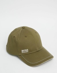 Бейсболка с логотипом Hugo Boss - Хаки