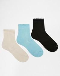 3 пары носков Ruby Rocks - Пастельные тона