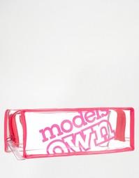 Длинная косметичка Models Own - Long make up bag