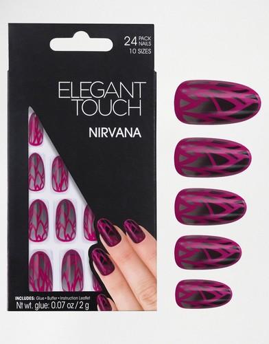 Накладные ногти овальной формы Elegant Touch Trend - Nirvana