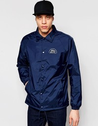 Синяя куртка Харрингтон с логотипом Vans V2MULKZ - Синий