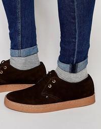 Замшевые ботинки чукка Farah Fame - Коричневый