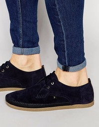 Туфли Farah Drape Lo - Темно-синий