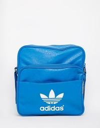 Сумка на плечо Adidas Sir - Темно-синий