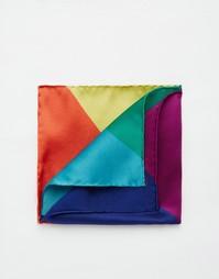 Шелковый платок для нагрудного кармана Paul Smith Union Jack - Мульти