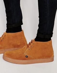Замшевые ботинки чукка Farah Famous - Рыжий